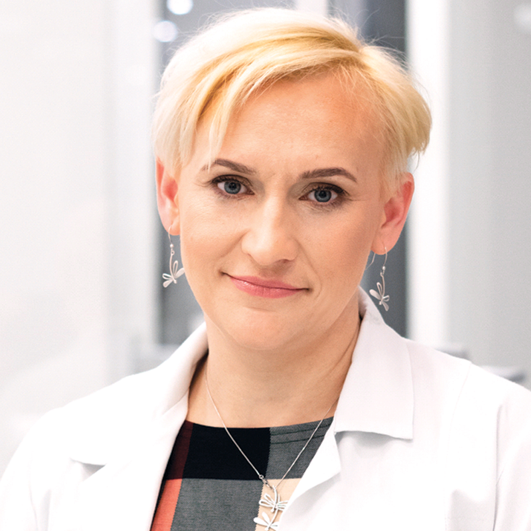 Dr. Juliette Duda, specialist in Endocrynology and Internal Diseases.